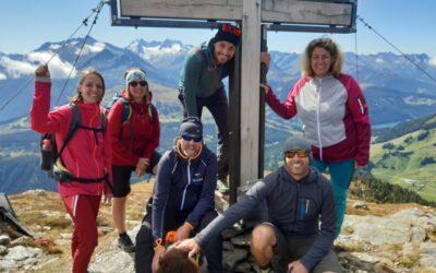 Segnung Gipfelkreuz am Ronachgeier